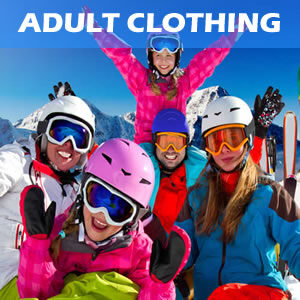 Adult Snow Clothing Rental including pants, jackets and snow walking boots Hire