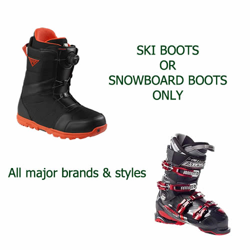 Hire Ski or Snowboard Boots Only in Jindabyne