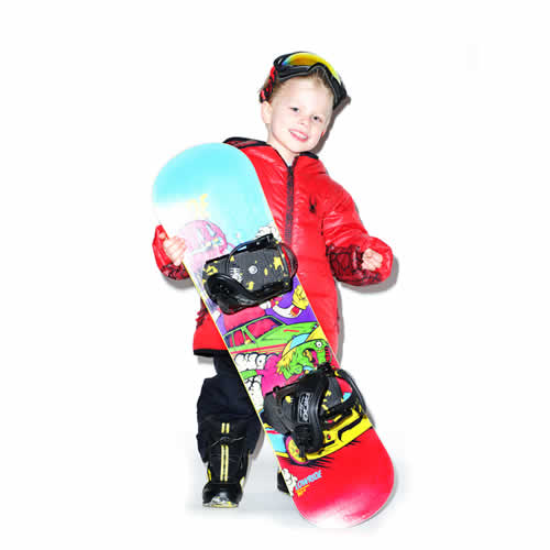 Kid Snowboard Hire
