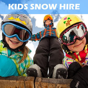Hire Child Ski, Snowboard and Snow Clothing Hire in Jindabyne