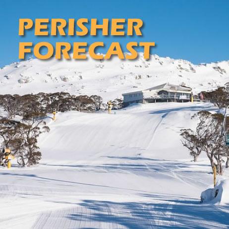 Perisher 7 Day Alpine Weather Forecast - BOM