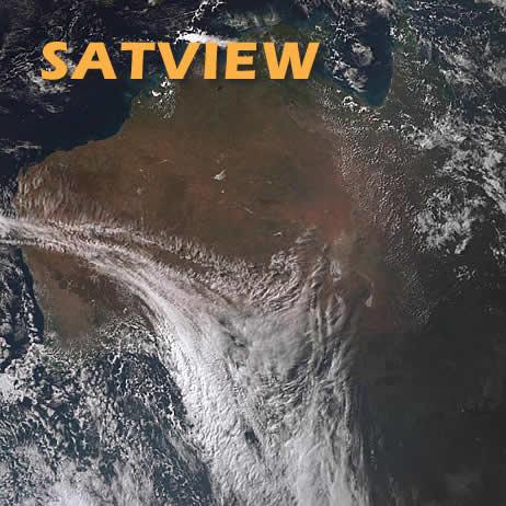 Satellite View of Australia - BOM