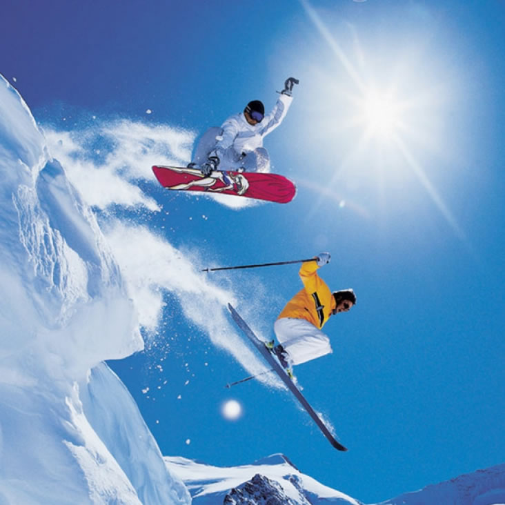 Hire all your ski or snowboard gear from the Boss