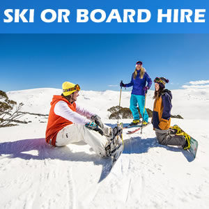 Hire Skis or Snowboard for Adults in Jindabyne